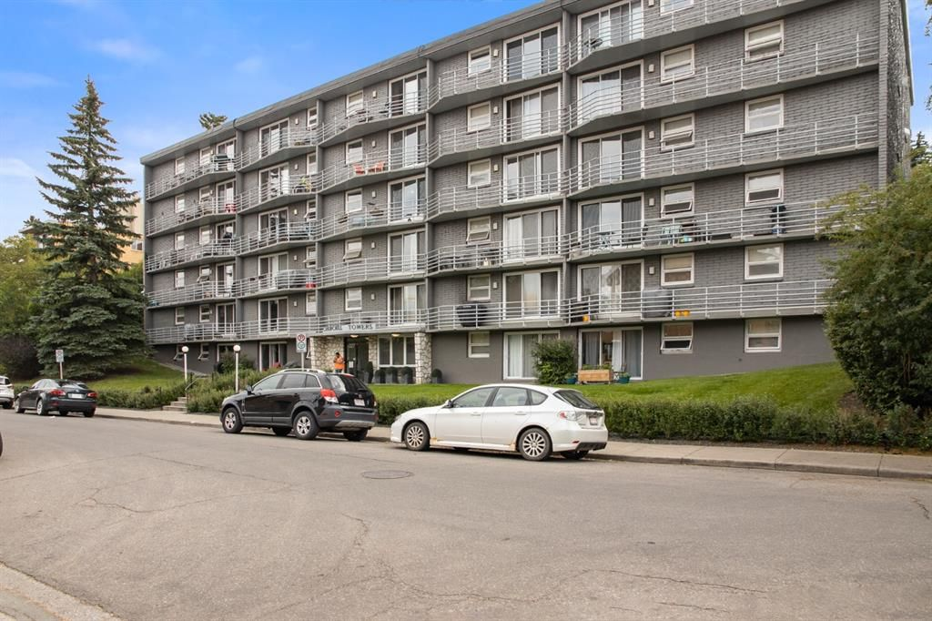 Main Photo: 603 1027 Cameron Avenue SW in Calgary: Lower Mount Royal Apartment for sale : MLS®# A1142414