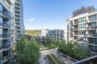 Photo 1: 432 222 Riverfront Avenue SW in Calgary: Chinatown Apartment for sale : MLS®# A1147218