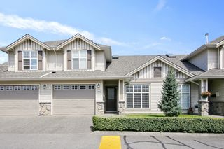 """Photo 1: 140 6450 VEDDER Road in Chilliwack: Sardis East Vedder Rd Townhouse for sale in """"Country Grove"""" (Sardis)  : MLS®# R2604059"""