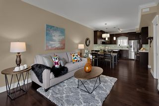 """Photo 1: 204 3488 SEFTON Street in Port Coquitlam: Glenwood PQ Townhouse for sale in """"Sefton Springs"""" : MLS®# R2527874"""