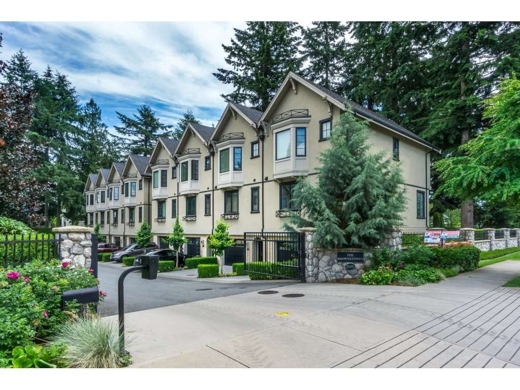 """Main Photo: 527 2580 LANGDON Street in Abbotsford: Abbotsford West Townhouse for sale in """"Brownstones"""" : MLS®# R2083525"""