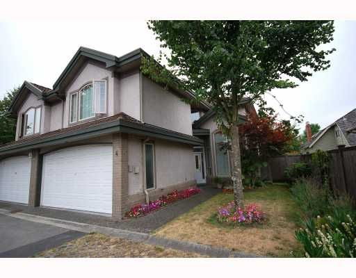 Main Photo: 4 8693 NO 3 Road in Richmond: Broadmoor Townhouse for sale : MLS®# V780928