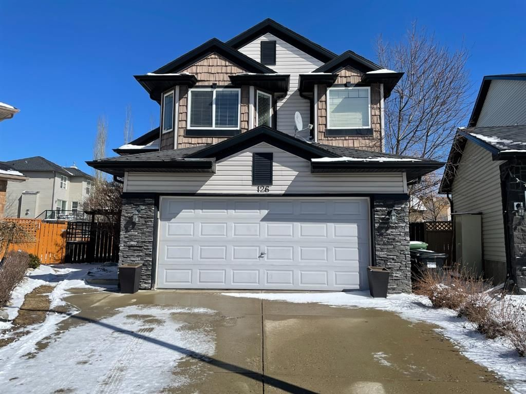 Main Photo: 126 Tusslewood Terrace NW in Calgary: Tuscany Detached for sale : MLS®# A1087865