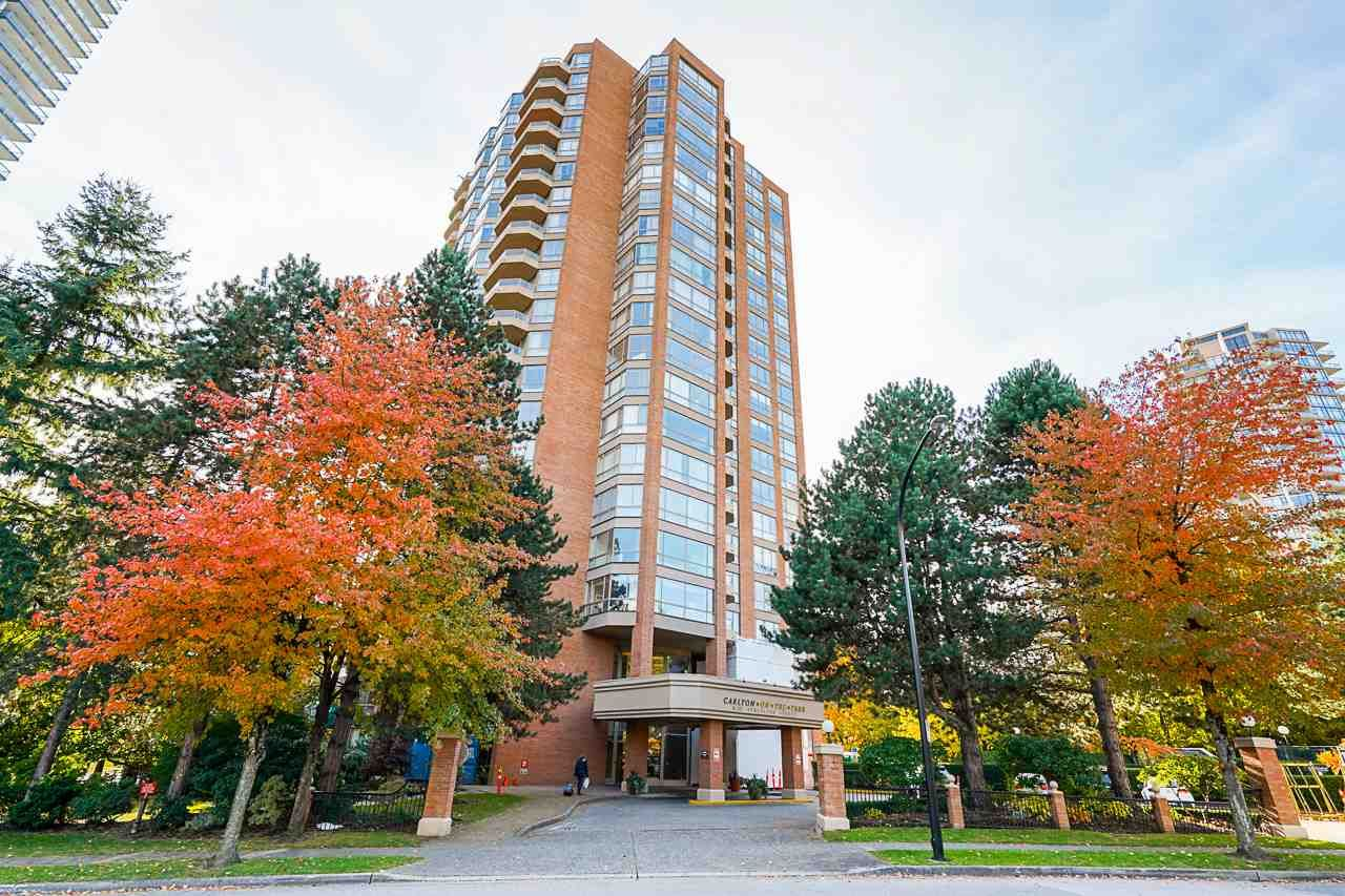 """Main Photo: 2102 4350 BERESFORD Street in Burnaby: Metrotown Condo for sale in """"CARLTON ON THE PARK"""" (Burnaby South)  : MLS®# R2584428"""