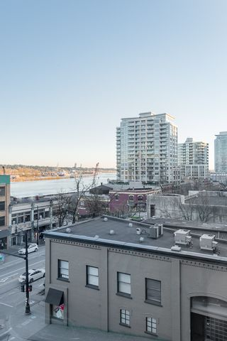 """Photo 10: 406 549 COLUMBIA Street in New Westminster: Downtown NW Condo for sale in """"C2C Lofts"""" : MLS®# R2568898"""
