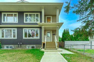 Photo 1: 10421 155 Street in Edmonton: Zone 21 House Half Duplex for sale : MLS®# E4266259