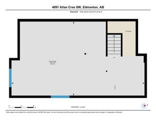 Photo 31: 4091 ALLAN Crescent in Edmonton: Zone 56 House Half Duplex for sale : MLS®# E4255510