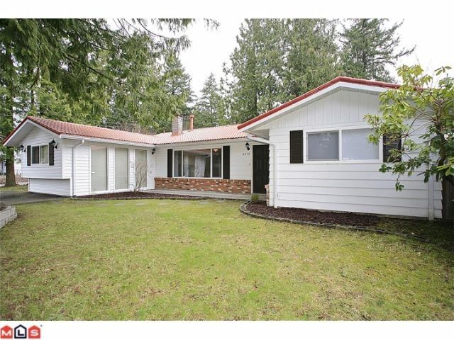 """Main Photo: 4370 204TH Street in Langley: Brookswood Langley House for sale in """"Brookswood"""" : MLS®# F1206281"""