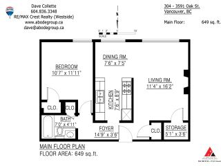 """Photo 8: 304 3591 OAK Street in Vancouver: Shaughnessy Condo for sale in """"Oakview Apts"""" (Vancouver West)  : MLS®# V937079"""