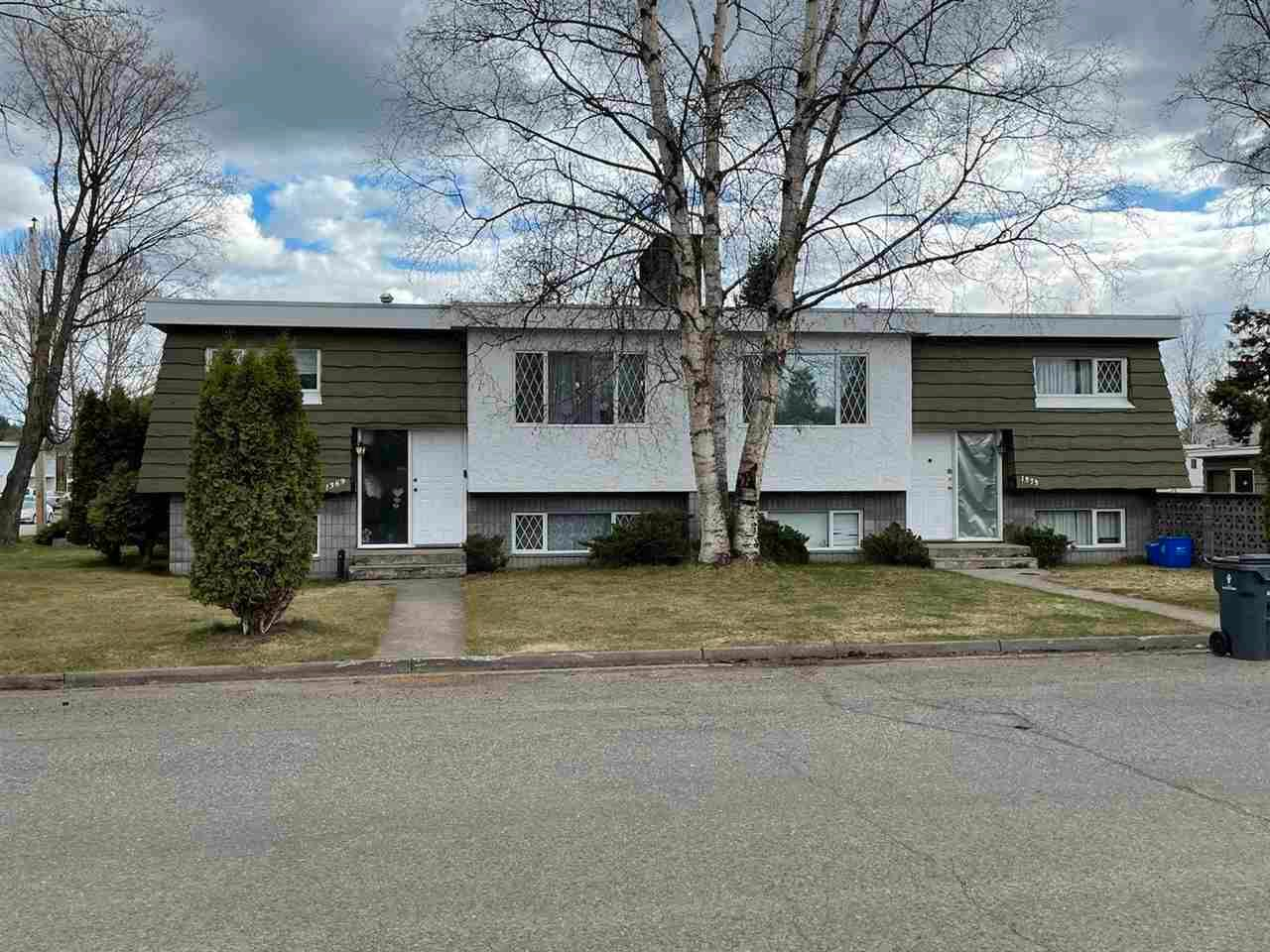 Main Photo: 1369 - 1373 PORTER Avenue in Prince George: VLA Duplex for sale (PG City Central (Zone 72))  : MLS®# R2576934