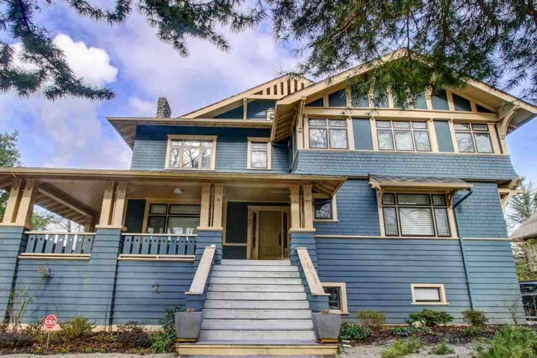 Main Photo: 1947 W 19TH Avenue in Vancouver: Shaughnessy House for sale (Vancouver West)  : MLS®# R2533435