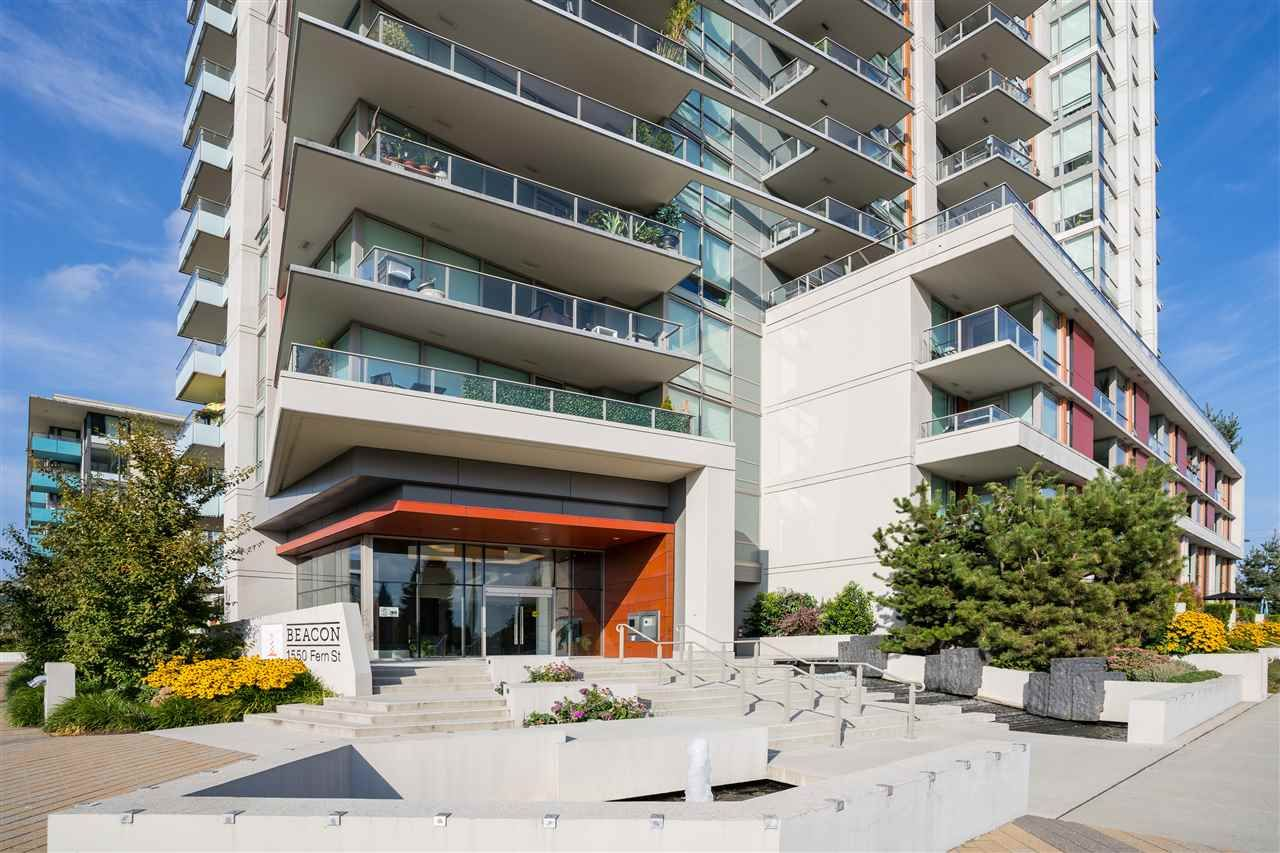 "Main Photo: 1004 1550 FERN Street in North Vancouver: Lynnmour Condo for sale in ""BEACON AT SEYLYNN VILLAGE"" : MLS®# R2562141"