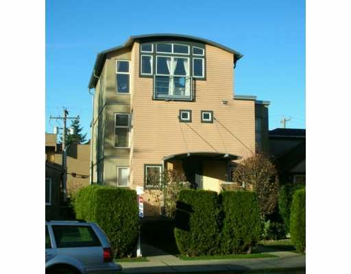Main Photo: 1431 MAPLE ST in Vancouver: Kitsilano Townhouse for sale (Vancouver West)  : MLS®# V586615