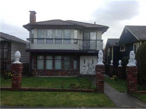 Main Photo: 3054 7TH Ave E in Vancouver East: Renfrew VE Home for sale ()  : MLS®# V1055771