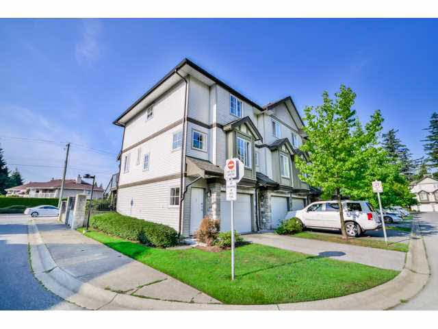 """Main Photo: 1 14855 100 Avenue in Surrey: Guildford Townhouse for sale in """"HAMSTEAD MEWS"""" (North Surrey)  : MLS®# F1449061"""