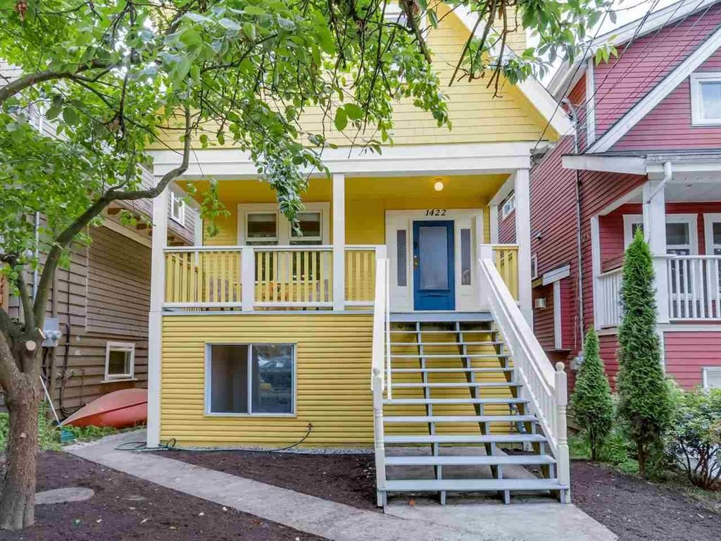 Main Photo: 1422 in Parker St.: Grandview VE House for sale (Vancouver East)  : MLS®# R2078613