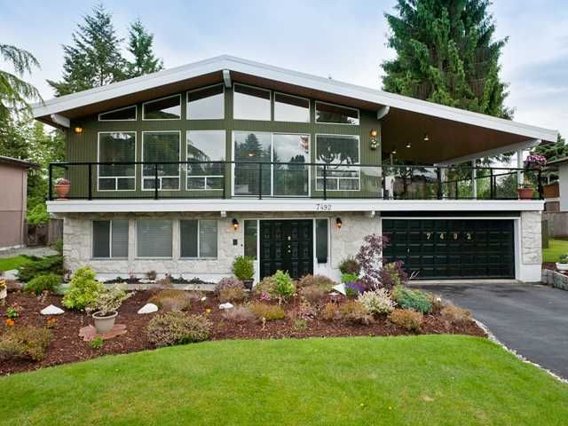 Main Photo: 7492 DORCHESTER Drive in Burnaby: Government Road House for sale (Burnaby North)  : MLS®# V969163