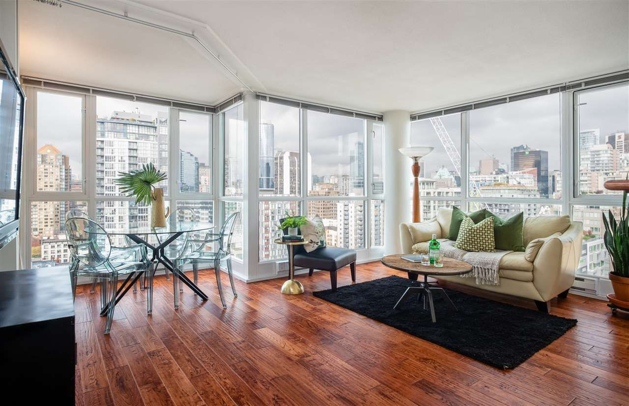 Main Photo: 2103 1188 RICHARDS STREET in Vancouver: Yaletown Condo for sale (Vancouver West)  : MLS®# R2330649