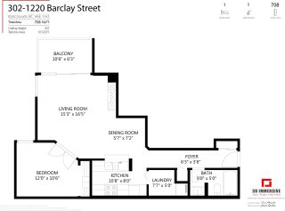 """Photo 21: 302 1220 BARCLAY Street in Vancouver: West End VW Condo for sale in """"Kenwood Court"""" (Vancouver West)  : MLS®# R2592561"""
