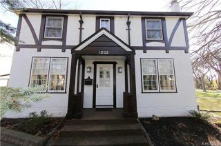 Photo 1: 1202 Grosvenor Avenue in Winnipeg: Residential for sale (1C)  : MLS®# 1728775