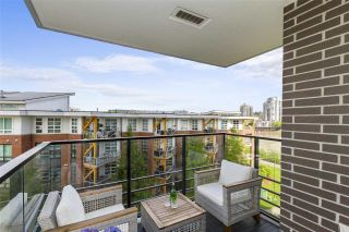 """Photo 21: 503 210 SALTER Street in New Westminster: Queensborough Condo for sale in """"PENINSULA"""" : MLS®# R2579738"""