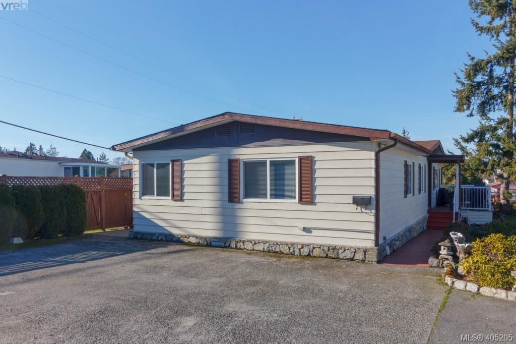Main Photo: 11 151 Cooper Rd in VICTORIA: VR Glentana Manufactured Home for sale (View Royal)  : MLS®# 805155