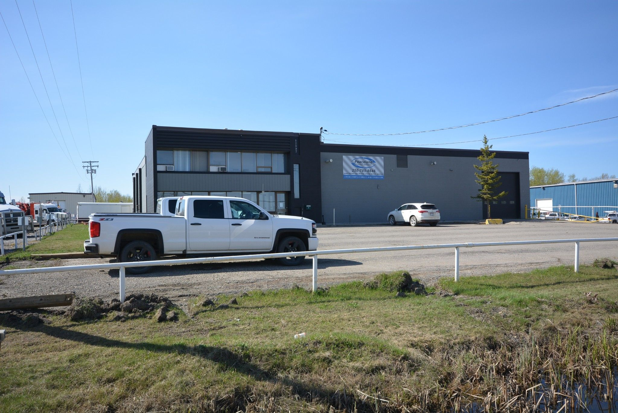 Main Photo: 12097 242 Road in Fort St. John: Fort St. John - Rural W 100th Industrial for sale (Fort St. John (Zone 60))