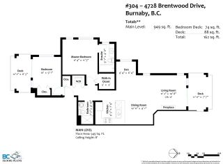 Photo 3: 304 4728 BRENTWOOD Drive in Burnaby: Brentwood Park Condo for sale (Burnaby North)  : MLS®# R2574645