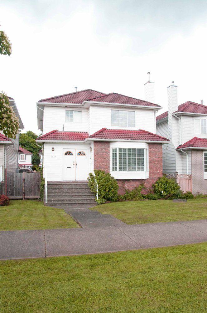 Main Photo: 2479 CHARLES Street in Vancouver East: Renfrew VE Home for sale ()  : MLS®# V968235