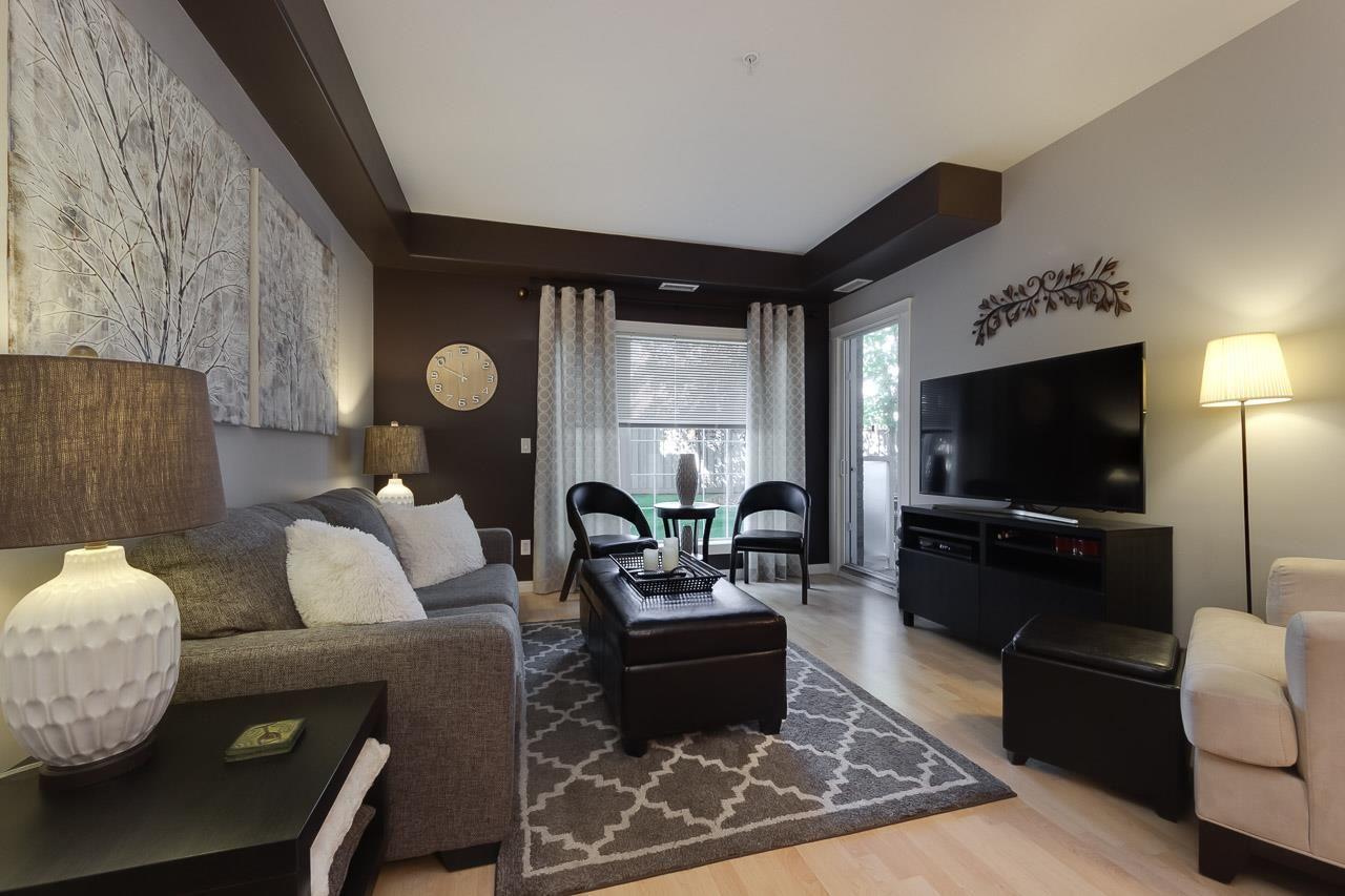 Main Photo: 112 612 111 Street in Edmonton: Zone 55 Condo for sale : MLS®# E4229139
