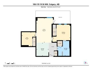 Photo 22: 108 119 19 Street NW in Calgary: West Hillhurst Apartment for sale : MLS®# A1093338