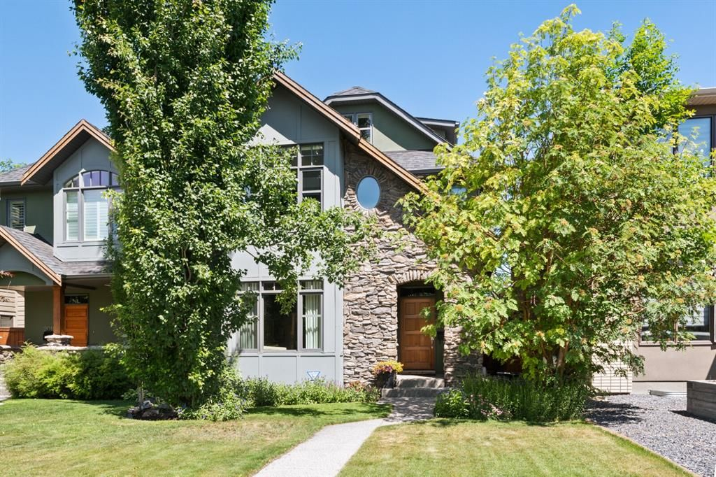 Main Photo: 2016 1 Avenue NW in Calgary: West Hillhurst Semi Detached for sale : MLS®# A1119856