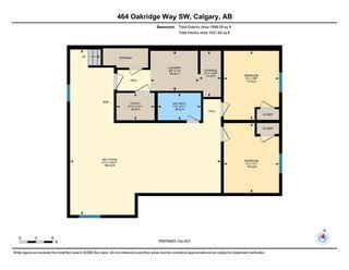 Photo 50: 464 Oakridge Way SW in Calgary: Oakridge Detached for sale : MLS®# A1072454