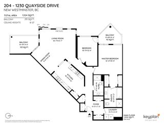"Photo 2: 204 1230 QUAYSIDE Drive in New Westminster: Quay Condo for sale in ""Tiffany Shores"" : MLS®# R2561902"