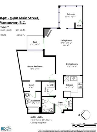 """Photo 20: 401 3480 MAIN Street in Vancouver: Main Condo for sale in """"Newport on Main"""" (Vancouver East)  : MLS®# R2575556"""