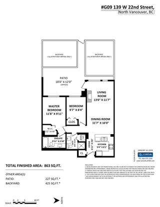 """Photo 17: G09 139 W 22ND Street in North Vancouver: Central Lonsdale Condo for sale in """"ANDERSON WALK"""" : MLS®# R2334018"""