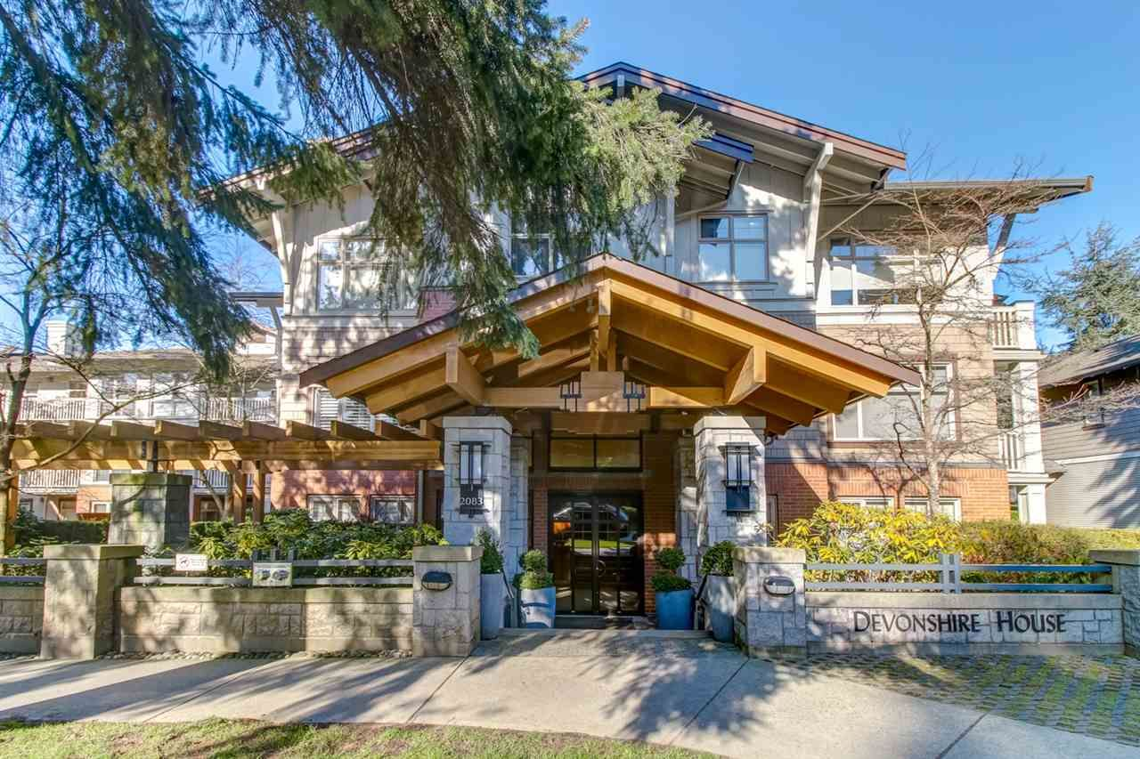 Main Photo: 325 2083 W 33RD Avenue in Vancouver: Quilchena Condo for sale (Vancouver West)  : MLS®# R2437144
