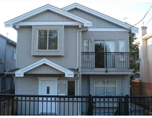 Main Photo: 5827 WOODSWORTH Street in Burnaby: Central BN 1/2 Duplex for sale (Burnaby North)  : MLS®# V773374