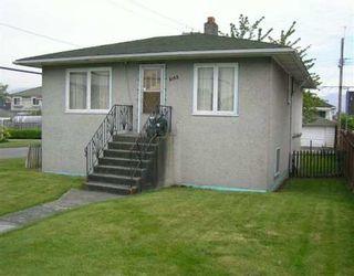 Photo 1: 3105 E 18TH AV in Vancouver: Renfrew Heights House for sale (Vancouver East)  : MLS®# V592707
