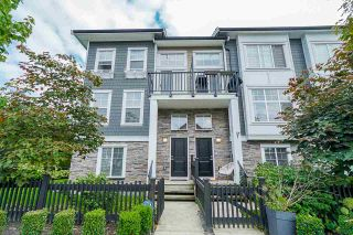 """Photo 1: 75 7686 209 Street in Langley: Willoughby Heights Townhouse for sale in """"KEATON"""" : MLS®# R2408051"""