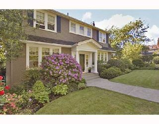 Photo 1: 4311 ANGUS Drive in Vancouver: Shaughnessy House for sale (Vancouver West)  : MLS®# V713303