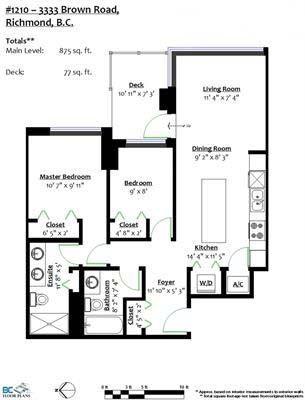 "Photo 14: C1210 3333 BROWN Road in Richmond: West Cambie Condo for sale in ""AVANTI 3"" : MLS®# R2241947"