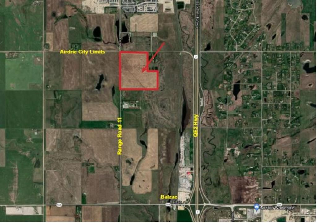 Main Photo: Twp Rd 264 in Rural Rocky View County: Rural Rocky View MD Residential Land for sale : MLS®# A1118369