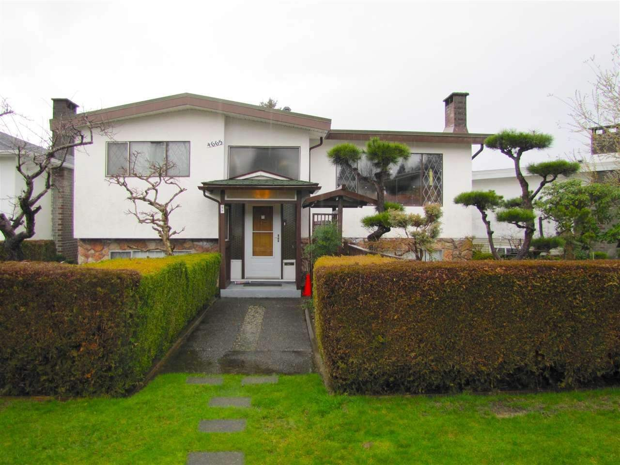 Main Photo: 4665 BALDWIN Street in Vancouver: Victoria VE House for sale (Vancouver East)  : MLS®# R2440227