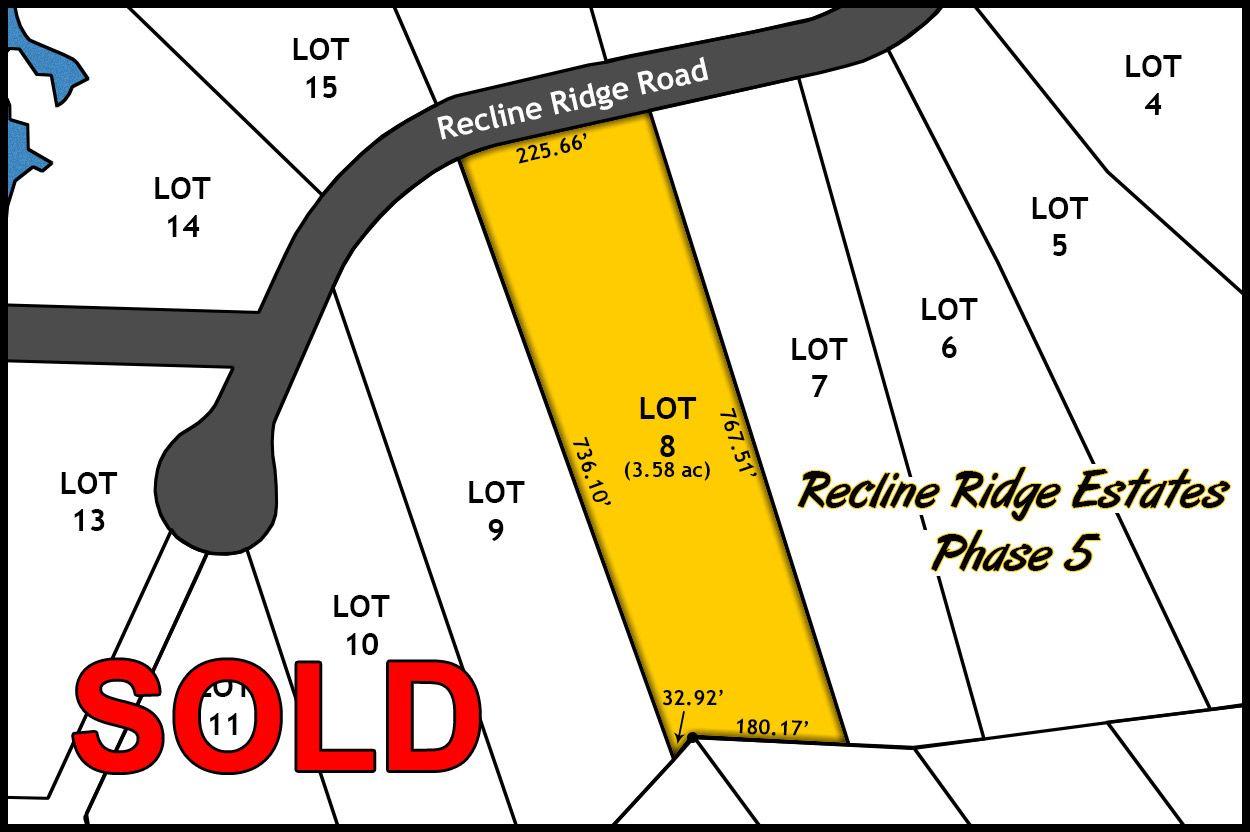 Recline Ridge Estates - Phase V - Lot 8