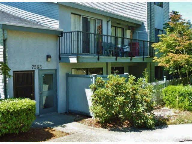 Main Photo: 1 7563 HUMPHRIES COURT in : Edmonds BE Townhouse for sale : MLS®# V1134543