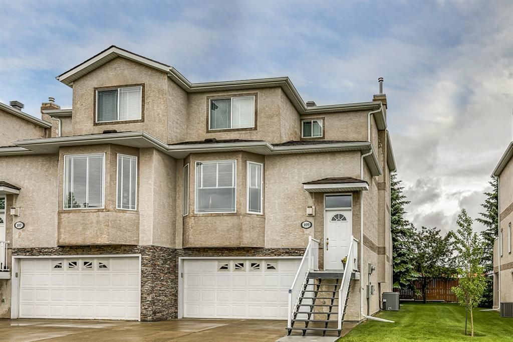 Main Photo: 109 Country Hills Gardens NW in Calgary: Country Hills Semi Detached for sale : MLS®# A1136498