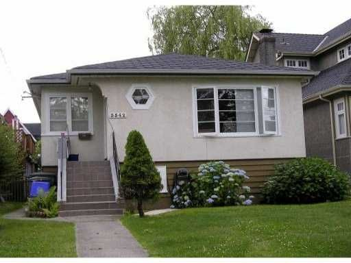 Main Photo: 3542 West 7th Avenue in Vancouver: Kitsilano House for sale (Vancouver West)