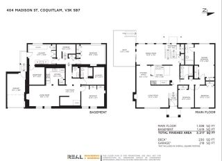 Photo 2: 404 MADISON Street in Coquitlam: Central Coquitlam House for sale : MLS®# R2240290