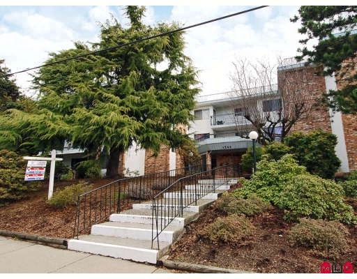 """Main Photo: 107 1544 FIR Street in White_Rock: White Rock Condo for sale in """"Juniper Arms"""" (South Surrey White Rock)  : MLS®# F2905092"""